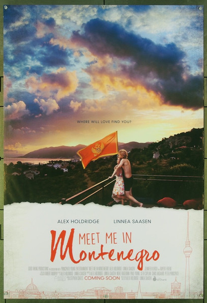 MEET ME IN MONTENEGRO (2014) 26603 Original The Orchard Advance One Sheet Poster (27x40).  Double-Sided.  Rolled.  Very Fine.