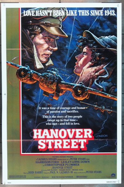 HANOVER STREET (1979) 3284 Original Columbia Pictures One Sheet Poster (27x41).  Folded.  Very Fine