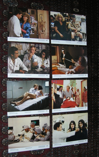 YOUNG DOCTORS IN LOVE (1982) 10021 20th Century Fox Original Lobby Card Set (11x14)  Eight Cards  Very Fine Condition