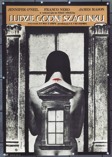 GENTE DI RISPETTO (1975) 22135 Original Polish Poster (22.5 x 32) Very Fine Condition