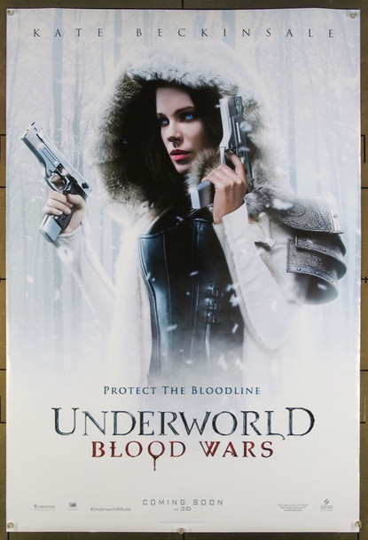 UNDERWORLD: BLOOD WARS (2016) 26611 Original Screen Gems Advance One Sheet Poster (27x41).  Double-Sided.  Rolled.  Very Fine.