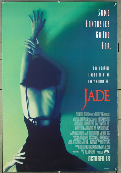 JADE (1995) 26525 Original Paramount Pictures One Sheet Poster (27x41).  Unfolded.  Very Fine.