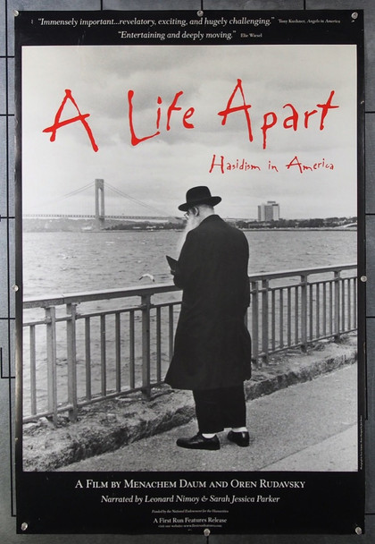 LIFE APART, A (2014) 26526 Original Community Channel One Sheet Poster (24x36).  Unfolded.  Very Fine.