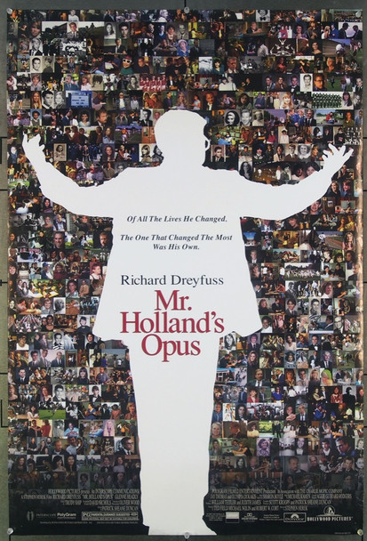 MR. HOLLAND'S OPUS (1995) 26527 Original Buena Vista Pictures One Sheet Poster (27x41).  Unfolded.  Fine Plus Condition