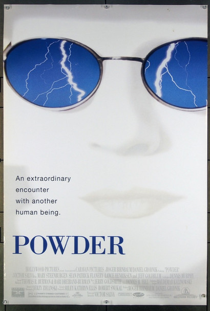 POWDER (1995) 26530 Original Buena Vista One Sheet Poster (27x41).  Unfolded.  Very Fine.