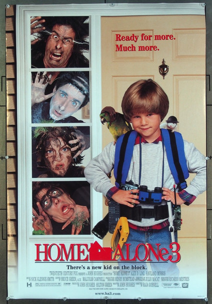 HOME ALONE 3 (1997) 26522 20th Century Fox Original One-Sheet Poster (27x41)  Never Folded  Very Fine
