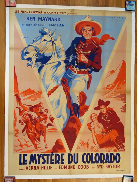 MYSTERY MOUNTAIN (1934) 26483 Original French Grande Poster (47x63) Very Fine Condition