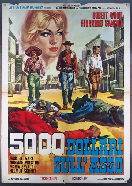 RANCHO DE LOS IMPLACABLES, EL (1965) 25638 S C Entertainment Italian 39x55 Two Foglio poster  Condition very good