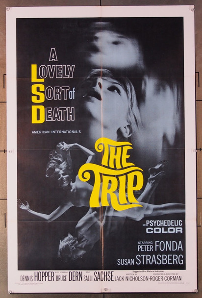 TRIP, THE (1967) 18568 American International Original One-Sheet Poster (27x41)  Folded  Very Fine Condition