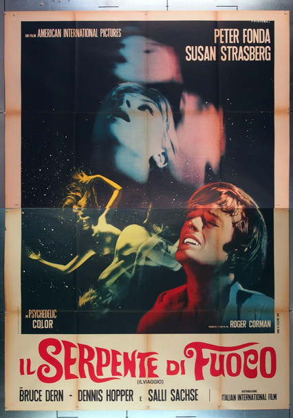TRIP, THE (1967) 26687 American International Original Italian 79x55 Poster  Folded  Very Fine Condition