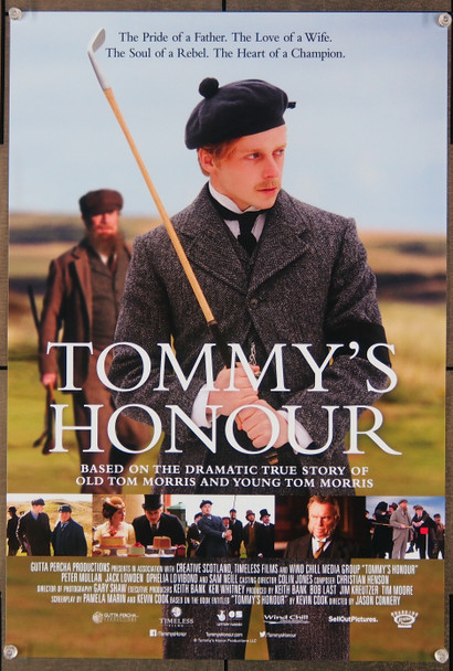 TOMMY'S HONOUR (2016) 26896 Roadside Attractions MINI poster   14x20  Unfolded