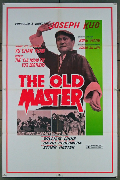 OLD MASTER (1981) 26901 Unifilm International Original One-Sheet Poster  (27x41) Folded  Very Fine Condition