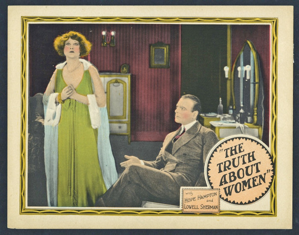 TRUTH ABOUT WOMEN, THE (1924) 15040 Banner Productions Original Scene Lobby Card (11x14)  Very Fine Condition
