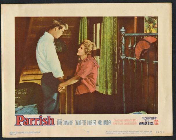 PARRISH (1961) 26929 Warner Brothers Original Scene Lobby Card (11x14) Very Fine Condition