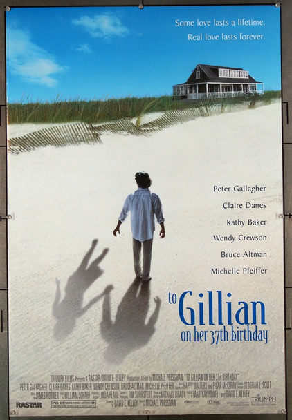 TO GILLIAN ON HER 37TH BIRTHDAY (1996) 27011 Triumph Films Original One-Sheet Poster (27x41) Rolled  Very Fine Condition