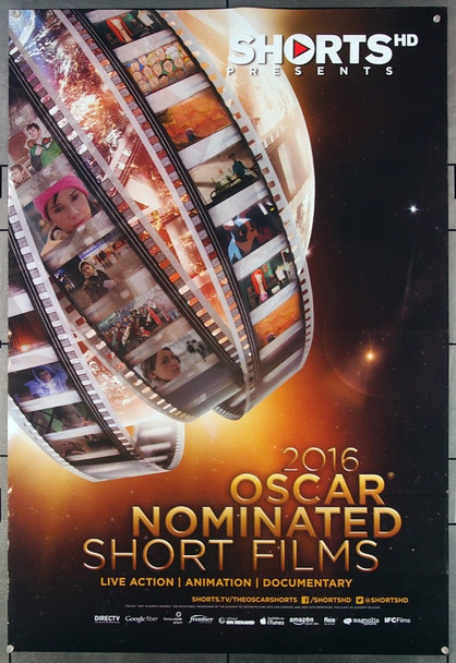 OSCAR NOMINATED SHORT FILMS,THE (10'S ) 26881 Magnolia Pictures Original One-Sheet Poster (27x40) Rolled  Fine Condition