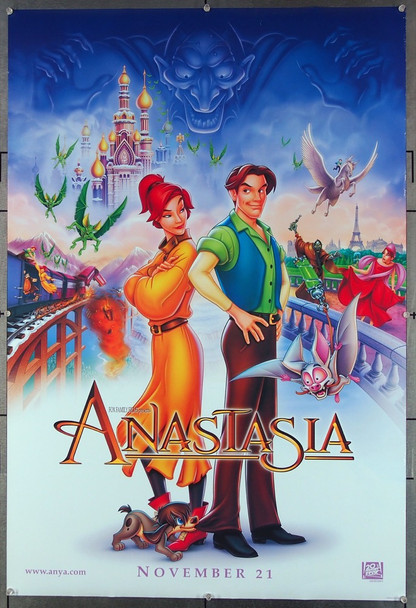 ANASTASIA (1997) 26510 20th Century Fox Original One-Sheet