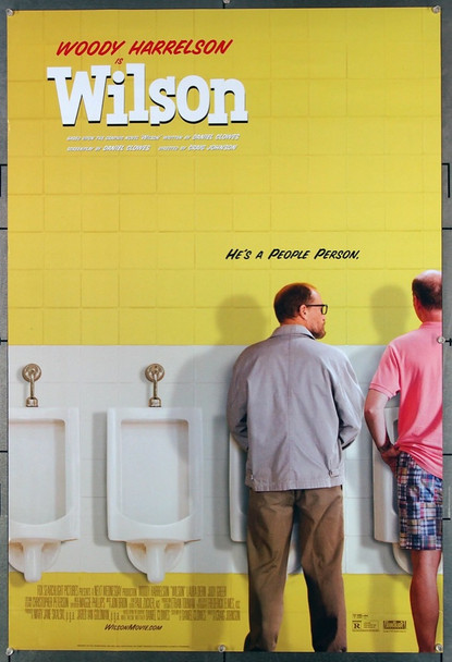 WILSON (2017) 26856 Fox Searchlight Pictures Original One-Sheet Poster (27x40) Rolled  Very Fine