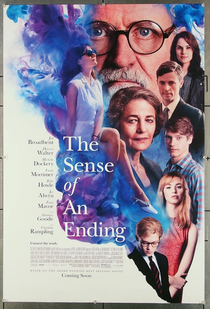 SENSE OF AN ENDING, THE (2017) 26851 Film and TV House Original U.S. One-Sheet Poster (27x40) Double Sided  Very Fine Condition