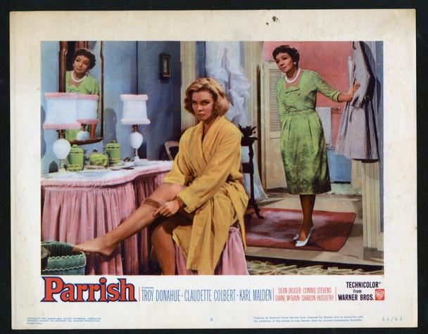PARRISH (1961) 27027 Warner Brothers Original Scene Lobby Card (11x14) Very Good Condition
