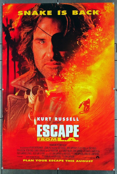 ESCAPE FROM L.A. (1996) 26513 Paramount Pictures Original One-Sheet Poster (27x41) Rolled, Very Fine Condition
