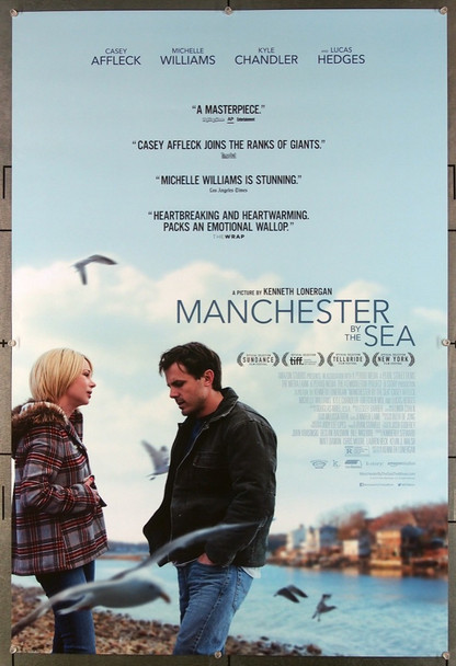 MANCHESTER BY THE SEA (2016) 26850 Roadside Attractions Original One-Sheet Poster (27x40) Rolled Very Fine Condition