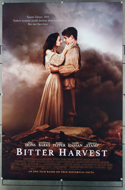 BITTER HARVEST (2017) 26730 Roadside Attractions Original One-Sheet Poster (27x40) Rolled  Double Sided  Very Fine Condition