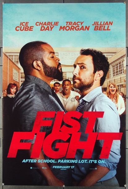 FIST FIGHT (2017) 26736 Warner Brothers Original One-Sheet Poster (27x40) Rolled, Double Sided, Very Fine Condition