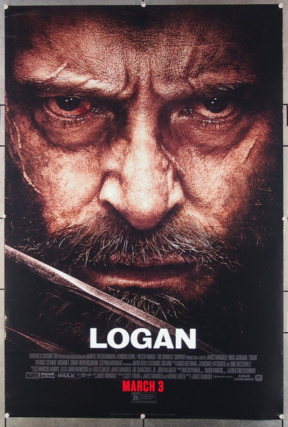 LOGAN (2017) 26849 20th Century Fox Original One-Sheet Poster (27x40)  Double Sided  Rolled  Very Fine Condition