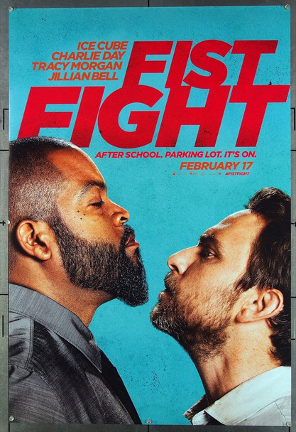 FIST FIGHT (2017) 26737 Warner Brothers Original One-Sheet Poster (27x40)  Rolled  Very Fine Condition  Double Sided