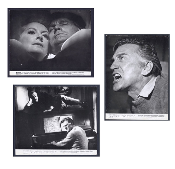 ARRANGEMENT, THE (1969) 15490 Warner Brothers Original Gelatin Silver Photographs (11x14)  Three individual studies of Kirk Douglas