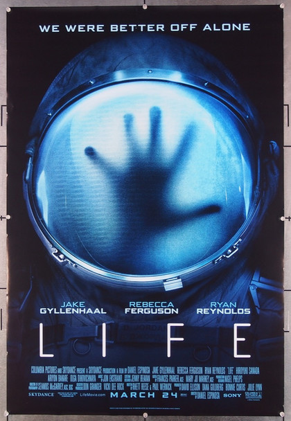 LIFE (2017) 26848 Columbia Pictures Original One-Sheet Poster (27x40) Rolled  Very Fine Condition
