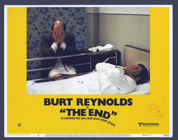 END,THE (1978) 26868 United Artists Original Scene Lobby Card (11x14) Very Fine Condition