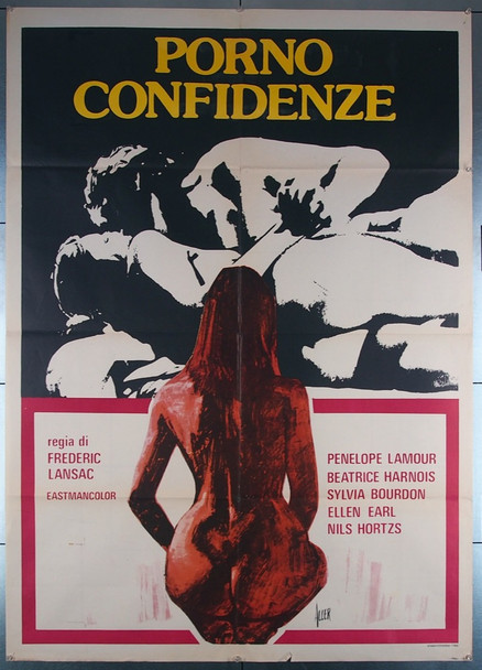 SEXE QUI PARLE, LE (1975) 26973 Catalyst Productions Original Italian 39x55 Movie Poster  Folded  Very Fine Condition
