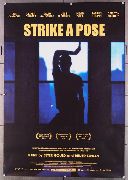 STRIKE A POSE (2016) 26852 Bond 360 Original One-Sheet U.S. Poster (27x40) Rolled  Very Fine Condition