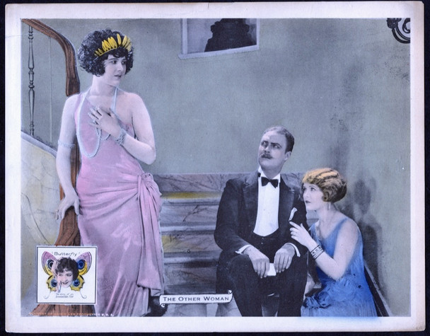 BUTTERFLY (1924) 2584 Universal Pictures Original Scene Lobby Card (11x14) Very Fine Condition