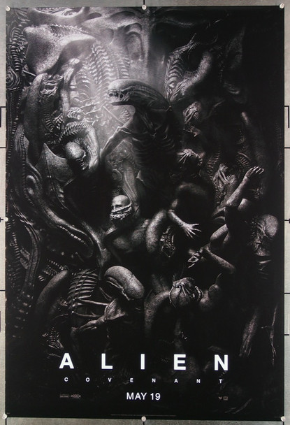 "ALIEN: COVENANT (2017) 26839 20th Century Fox Original One-Sheet Advance Style C Poster ""HIDE""  Rolled Very Fine Condition"