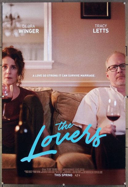 LOVERS, THE (2017) 27088 Original A24 One Sheet Poster (27x41).  Rolled  Very Fine.