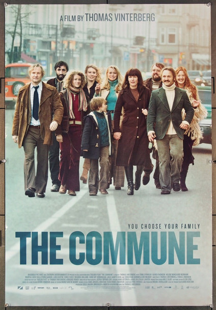 COMMUNE, THE (2016) 27084 Original Magnolia Pictures One Sheet Poster (27x41).  Rolled.    Very Fine.