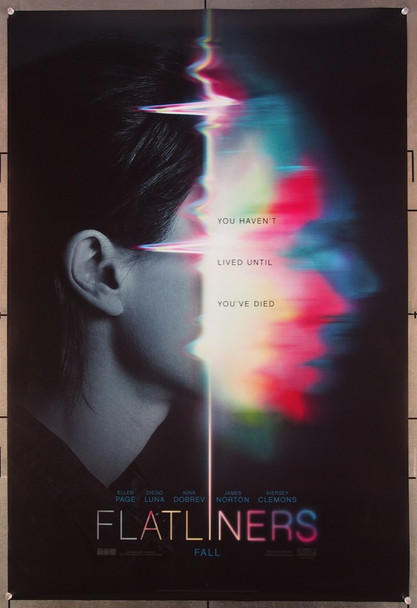 FLATLINERS (2017) 27086 Original Columbia Pictures One Sheet Poster (27x41).  Rolled   Very Fine.