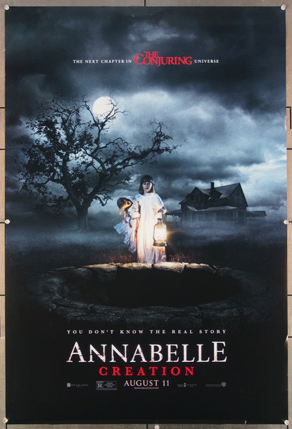 ANNABELLE: CREATION (2017) 27079 Original Warner Brothers Advance One Sheet Poster (27x41).  Rolled  Very Fine.