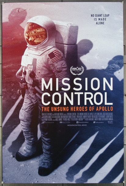 MISSION CONTROL: THE UNSUNG HEROES OF APOLLO (2017) 26948 Original Gravitas Ventures 2017 Release One Sheet Poster (27x40) Directed by David Fairhead