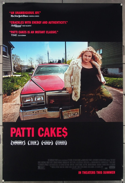 PATTI CAKES (2017) 26951 Directed by Geremy Jasper An original Fox Searchlight Pictures 2017 Release One Sheet Poster (27x40) Directed by Geremy Jasper and featuring Danielle Macdonald.