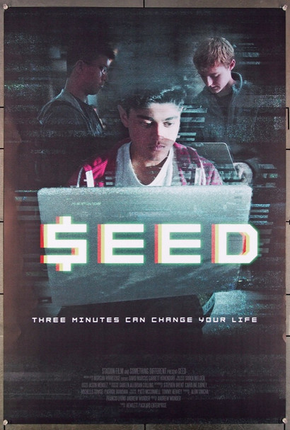 SEED (2017) 26954  Original Something Different Media 2017 Release One Sheet Poster (27x40) Directed by Andrew Wonder