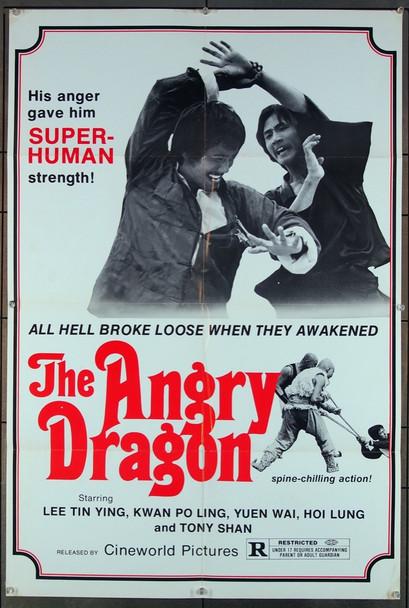 ANGRY DRAGON, THE (1973) 27393 Goldig Film Company Original U.S. One-Sheet Poster  (27x41) Folded