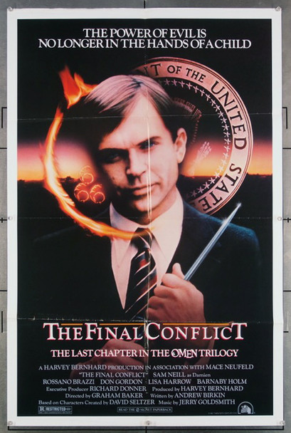 FINAL CONFLICT, THE (1981) 27169 Original Fox 1981 Release One Sheet Poster (27x41)
