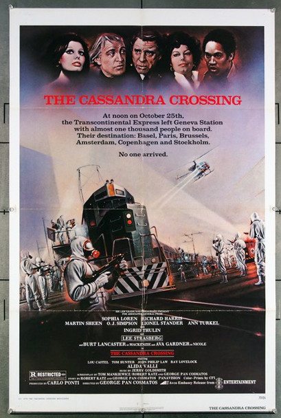 CASSANDRA CROSSING, THE (1976) 27138 Original Embassy Pictures 1976 Release One Sheet Poster (27x41) Directed by George P. Cosmatos