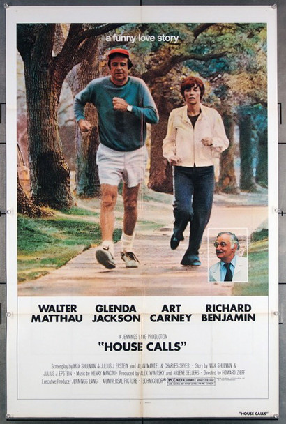 HOUSE CALLS (1978) 27209 Original Universal 1978 Release One Sheet Poster (27x41) Directed by Howard Zieff