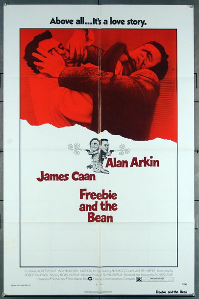 FREEBIE AND THE BEAN (1974) 27174 This original Warner Brothers 1974 Release One Sheet Poster (27x41)