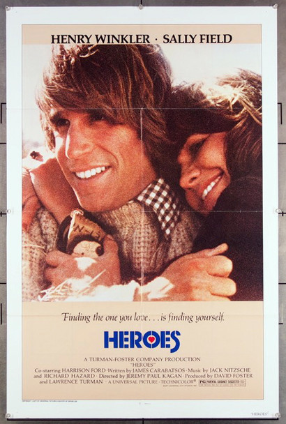 HEROES (1977) 27205 An original 1977 Universal Release One Sheet Poster (27x41) Directed by Jeremy Kagan